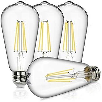 globe electric 73191 led vintage edison 2 5w light bulb small yellow. Black Bedroom Furniture Sets. Home Design Ideas