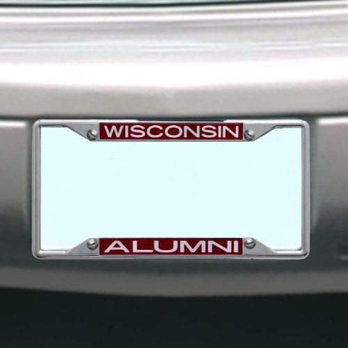 NCAA Wisconsin Badgers License Plate Frame - Plate Wisconsin License Frame Badgers