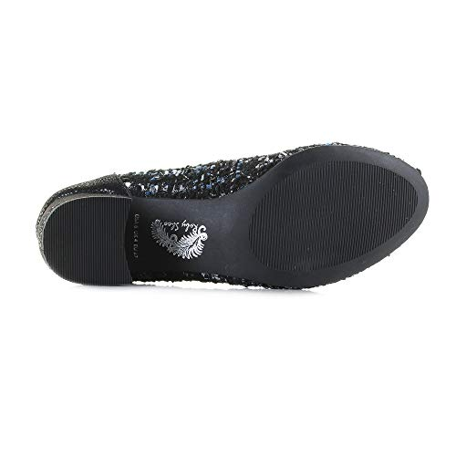 Thalia Women's Shoe Tweed Mid Tweed Ruby Shoo Heel PE1Uxz18n