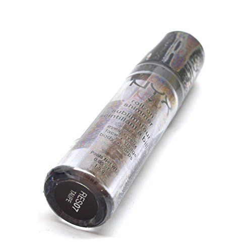 New Roll On Shimmer For Eyes, Face, Body Various Colors 0.05 oz / 1.5 g Beauty Yo + FREE EARRING (RES07 : TAUPE)