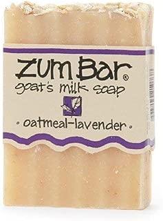 product image for Zum Bar Goat's Milk Soap, Oatmeal-Lavender 3 oz (85 g)