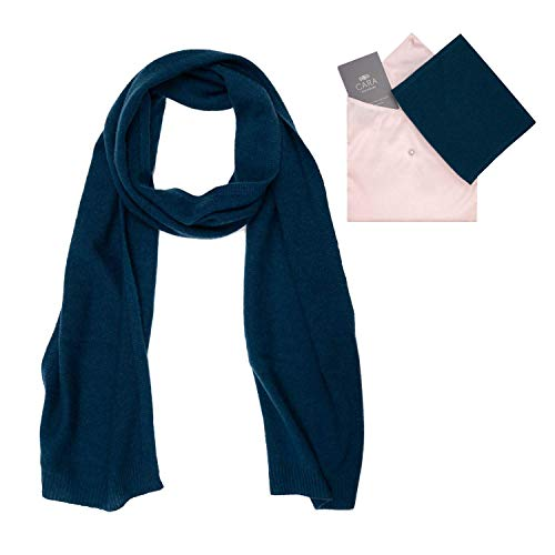 - Cashmere Scarf for Women - 100% Pure Luxury Knit - Lightweight, Ultra Soft, Warm - Beautifully Gift Wrapped (Teal Blue)