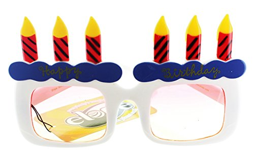 elope Happy Birthday Glasses Adult - Birthday Sunglasses