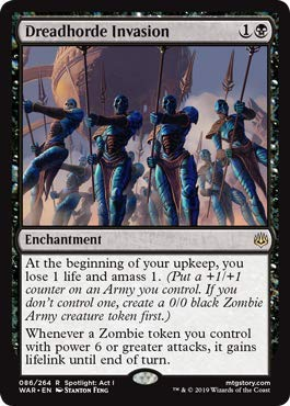 Magic: The Gathering - Dreadhorde Invasion - War of The Spark