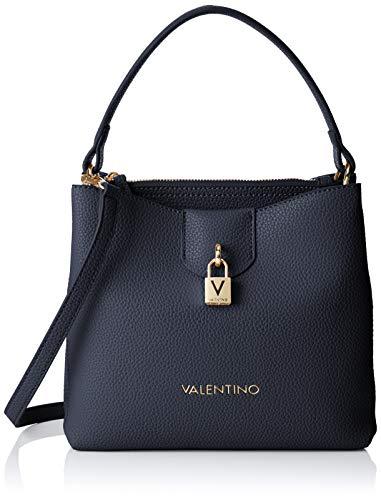 46315c8d0f Mario Valentino Women's VBS3C003 Satchel 10x22x25 cm (B x H x T) Blue Size