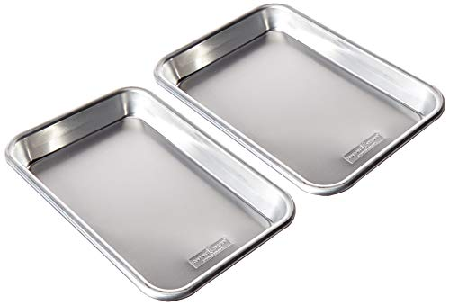Nordic Ware 36570 Burger Serving Trays - 2 Piece Set, Aluminum ()