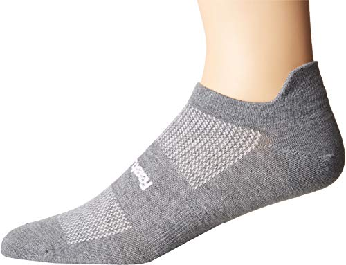 Feetures - High Performance Ultra Light - No Show Tab, Heather Gray, Medium