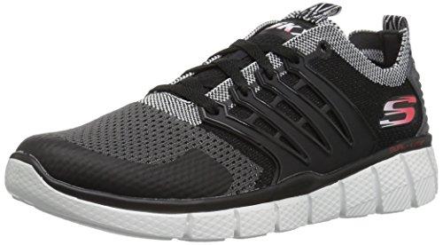 Skechers Kids Boys' Equalizer 2.0-97384L Sneaker, Black/Gray, 12.5 M US Little