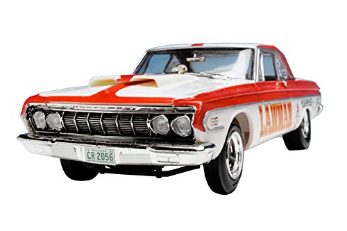 AMT 986 LAWMAN Racing 1964 Plymouth Belvedere Super Stock 1:25 Scale Plastic Model Kit - Requires Assembly