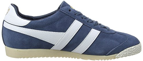 discount codes really cheap Gola Women's Harrier 50 Suede Baltic/White Trainers Blue (Baltic/White Ex) deals for sale ZmkFz