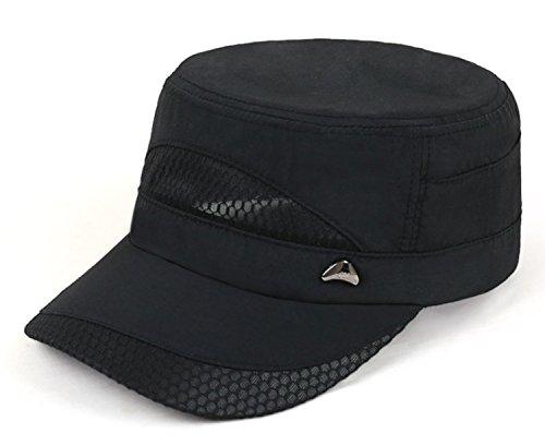 不従順ホース添加剤フラットトップハット 帽子 夏 メッシュキャップ メンズアウトドアキャップ 速乾 サンハット カジュアル レジャーハット ワークキャップ 通気 ミリタリー キャップ 軍事キャップ
