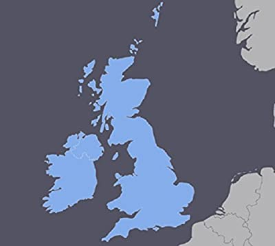 UK United Kingdom Ireland GPS Map 2017.1 for Garmin Devices