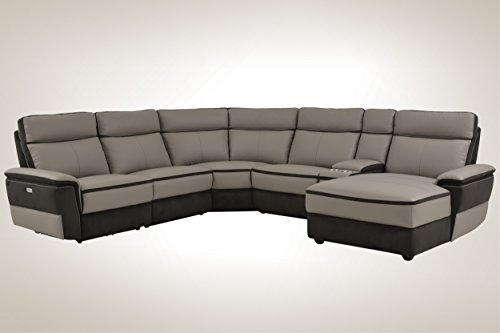 Buy power reclining sectional sofas