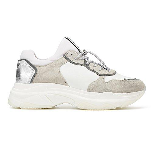 Donna Sneaker Bianco Bronx Baisley White UtZ66x