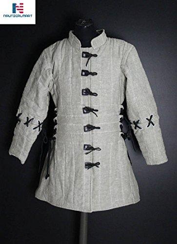 NAUTICALMART Archer Women Gambeson Medieval Women Clothing - LARP Medieval Fantasy Female Armor
