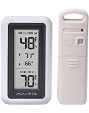 AcuRite Digital Thermometer with Indoor and Outdoor Temperature and Daily High and Lows (00424CA)
