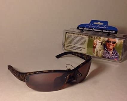 7beda1cda118 Amazon.com : Foster Grant Jimmy Houston Fishing Sunglasses Polarized ...