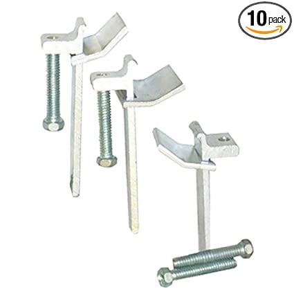 LASCO 42-2107 Sink Rim Clips Adjustable Works On Stone Or Tile Counter Tops, 10-Pack - Faucet Spouts And Kits - Amazon.com