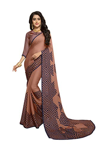 ❥ KIMANA Indian Designer Ethnic Bollywood Traditional Chiffon Party Wear Saree Sari S5047 Saree 6