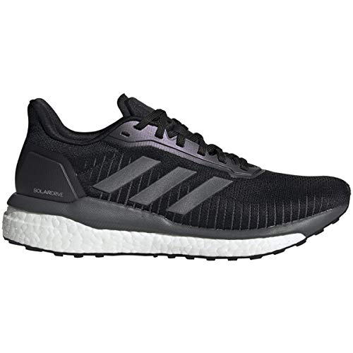 adidas Women's Solar Drive 19 Running Shoes Core Black/Grey Six/Cloud White 7