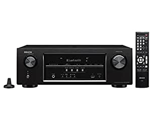 Denon AVR-S510BT 5.2 Channel Full 4K Ultra HD AV Receiver with Bluetooth