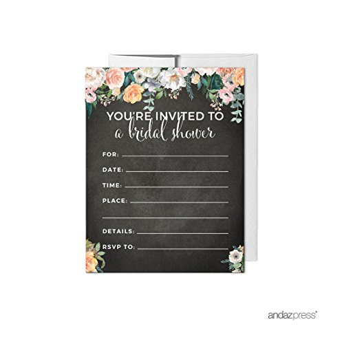 Garden Bridal Shower Invitations - 6