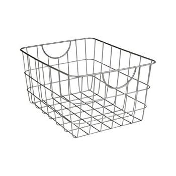 Amazon Com Spectrum Diversified Scoop Wire Storage Basket Medium