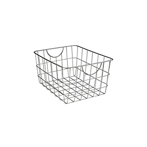 Spectrum Diversified Utility Storage Basket, Satin Nickel