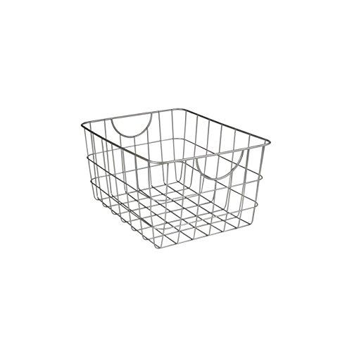 (Spectrum Diversified Utility Storage Basket, Satin Nickel)