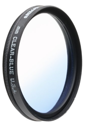Tiffen 49mm Blue Graduated Filter by Tiffen