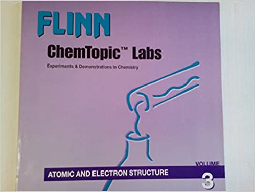 Atomic And Electron Structure Flinn Chemtopic Labs