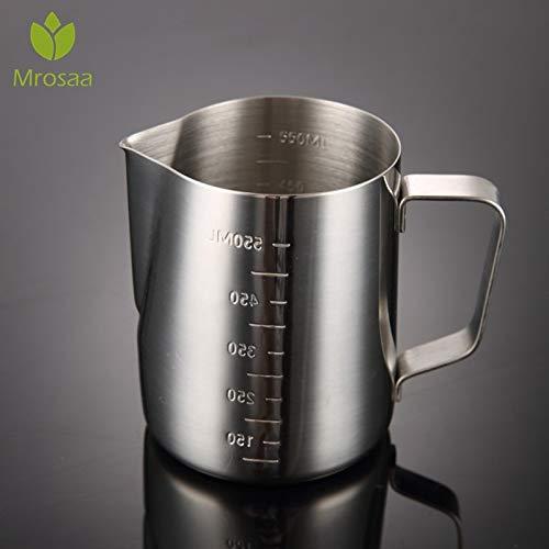 Majinz Store Coffee Pots Stainless Steel Espresso Coffee Pitcher Coffee Latte Milk Frothing Jug Pitcher