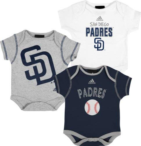 San Diego Padres 3 Piece Newborn/Infant Body Suit -