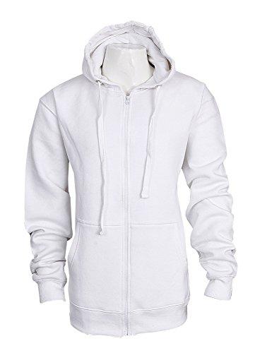 Bemode - Sudadera con capucha - para mujer blanco