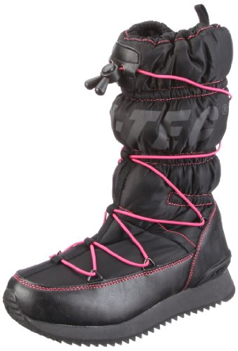 Hi-Tec New Moon, Women's Snow Boots Black - Schwarz/Black/Melon