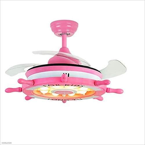 Ventiladores para el Techo con Lámpara Luz LED de Ventilador de ...