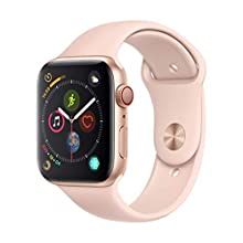 Apple Watch Series 4 (GPS + Cellular, 44mm) - Gold Aluminium Case with Pink Sand Sport Band