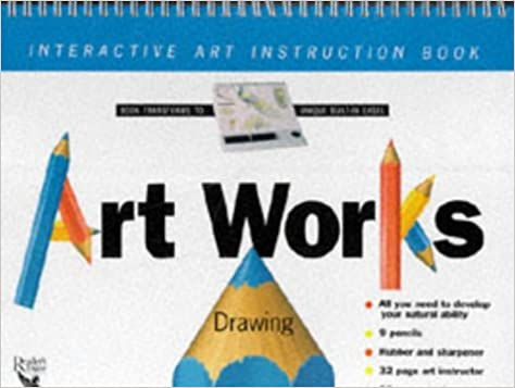 Amazon Art Works Drawing Interactive Art Instruction Book