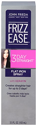 John Frieda Frizz Ease 3-Day Straight Flat Iron Spray, 3.5 Ounce