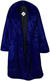 Amazon.com: Blue - Fur & Faux Fur / Coats Jackets & Vests