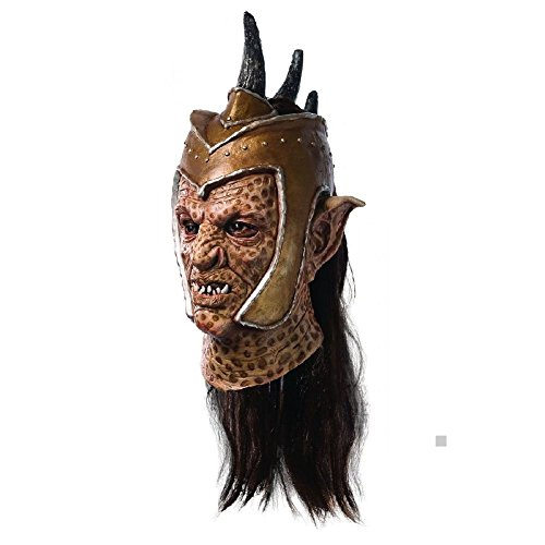 Deluxe Orc Mask Movie Costume Accessory Adult Sucker Punch Halloween