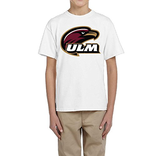 Cool 2016 Louisiana Monroe Warhawks ULM Logo Round Neck Teen T-Shirt