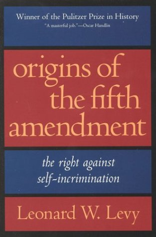 Image of Origins of the Fifth Amendment
