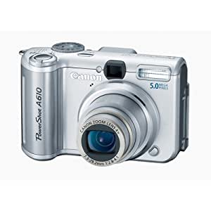 Canon Powershot A610 5MP Digital Camera with 4x Optical Zoom (OLD MODEL)