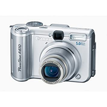 Canon powershot a610 driver download.