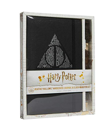 Harry Potter: Deathly Hallows Hardcover Journal and Elder Wand Pen Set
