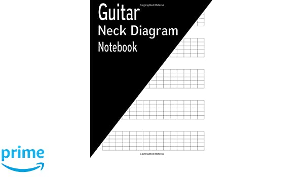 Amazon Guitar Neck Diagram Notebook 144 Pages 9781540749451