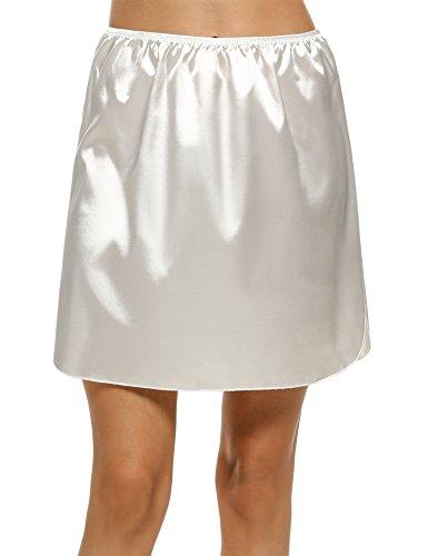Avidlove Women Lingerie Satin Pettipants Snip-it Culottes Slips Bloomers