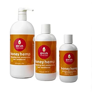 Oyin Handmade Honey Hemp Conditioner, 8.4 Ounce