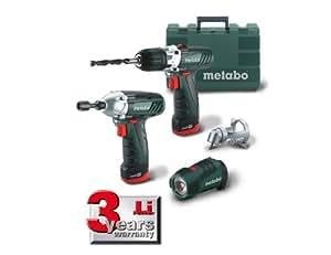 Metabo 6.85018.00 Power Combo - Juego de herramientas inalámbricas (10,8 V)